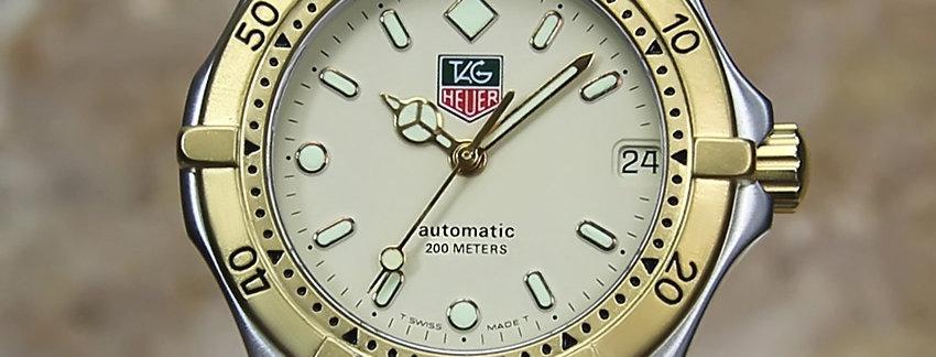 Tag Heuer 2000 Ref 665 713F Men's Swiss Watch    WatchArtExchange