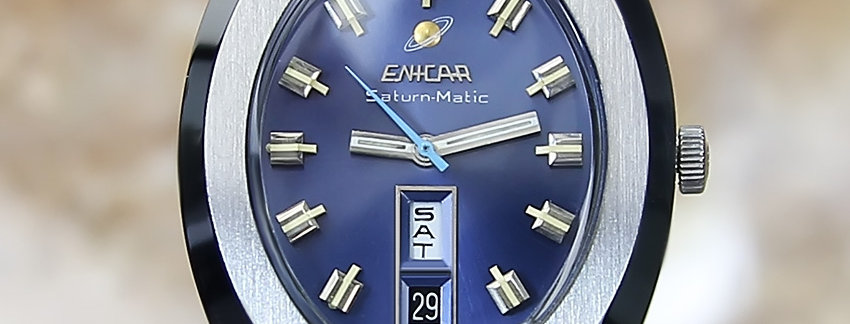 Enicar Swiss Made 1970 Automatic Stainless Steel  Men's Watch