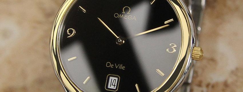 2000 Omega DeVille 18k Gold Watch