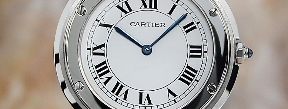 1990 Cartier Santos Ronde Watch