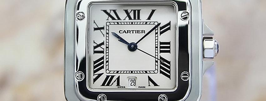 Cartier Santos Galbe  Swiss made Men's Watch