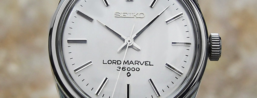 Seiko Lord Marvel 5740 8000 Men's Watch