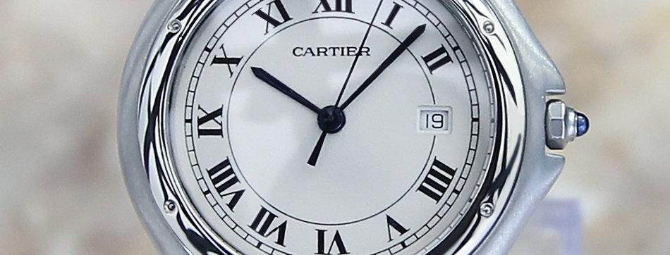 Elegant Cartier Panthere Vintage Watch