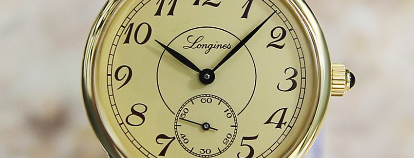 Longines 33mm Manual Men's Dress Watch