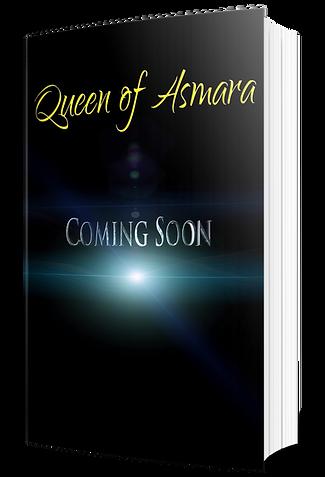 Queen of Asmara Coming Soon - 3D Book.pn
