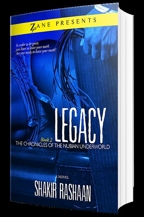 Legacy (Nubian Underworld #2)