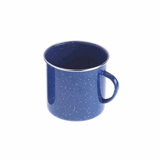 GSI Cup Stainless Rim 12 FL. OZ. CUP- BLUE
