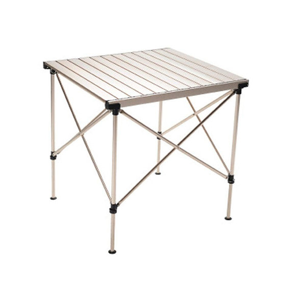 TABLE CHAMPAGNE GOLD FOLDING TABLE