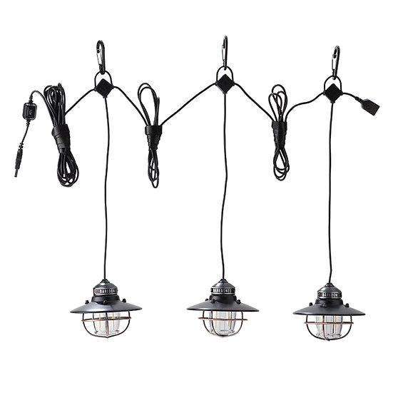 Barebones Edison String Lights AntiqueBronze