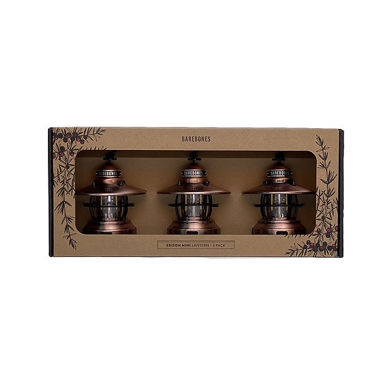"""""""Limited"""" Mini Edison Limited 3 Pack Copper"""