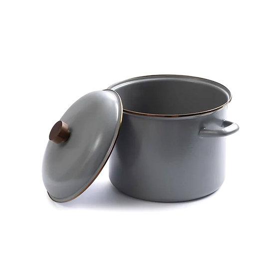 Barebones Enamel Stock Pot