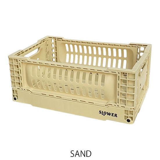FOLDING CONTAINER BASK (S)/SAND