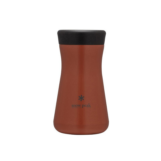 Stainless Vacuum Bottle TSUZUMI 350 Red Clay