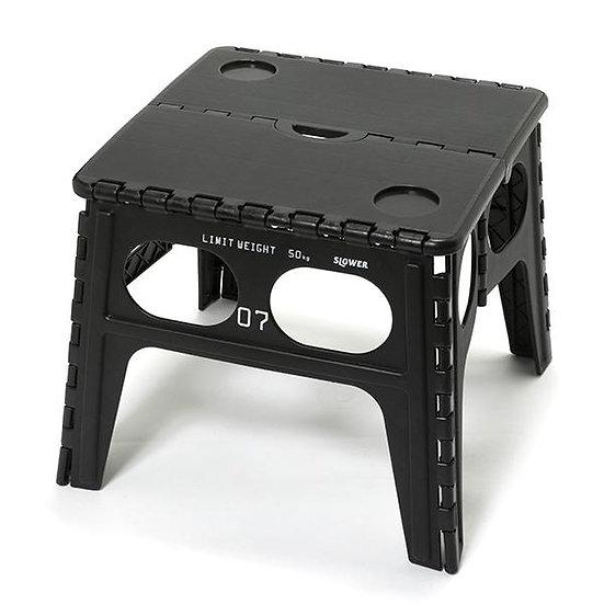 FOLDING TABLE CHAPEL/BLACK