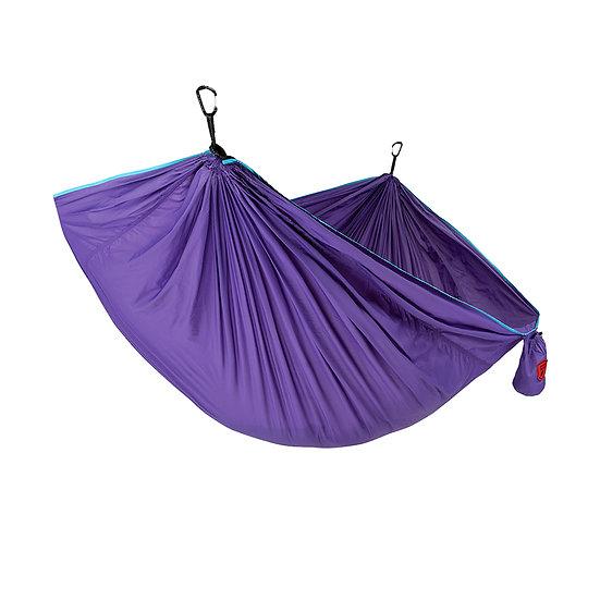 Grand Trunk TRUNKTECH SINGLE HAMMOCK Aqua/Violet