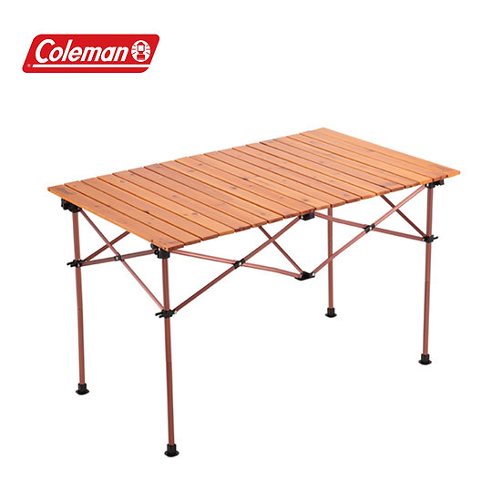 Coleman Natural Wood Roll Table Vintage 110 2000026802