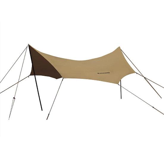 Blackdeer nest cotton octagonal tarp 510 sand brown