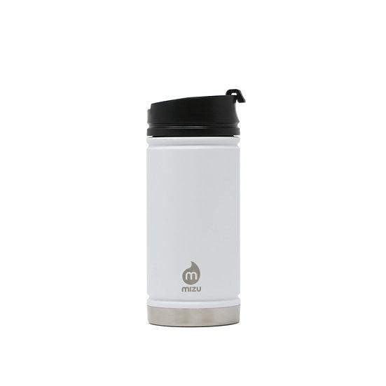 MIZU V5 - White w Coffee Lid