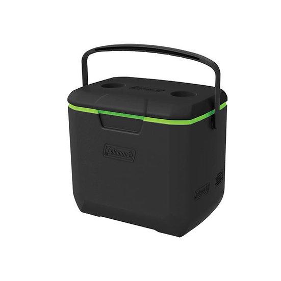 COLEMAN US 30 QT COOLER - BLACK / GREEN