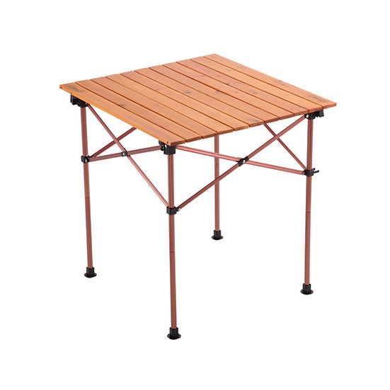 Coleman Natural Wood Roll Table Vintage 65 2000026803
