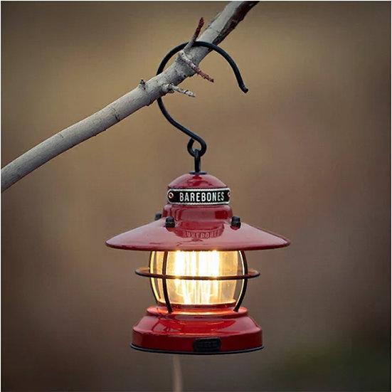 Barebone Mini Edison Lantern Red