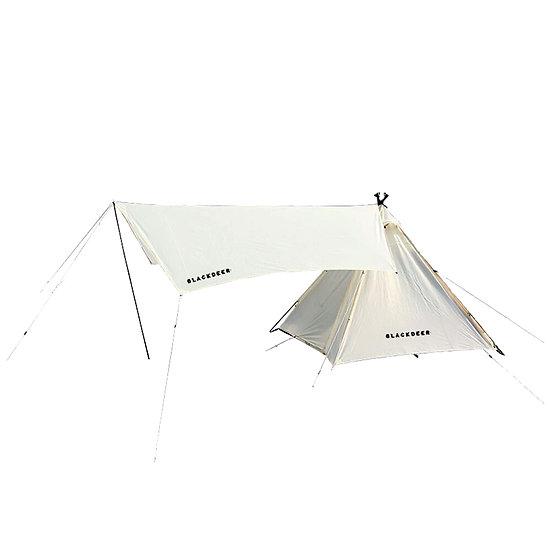 Blackdeer teepee tent with tarp