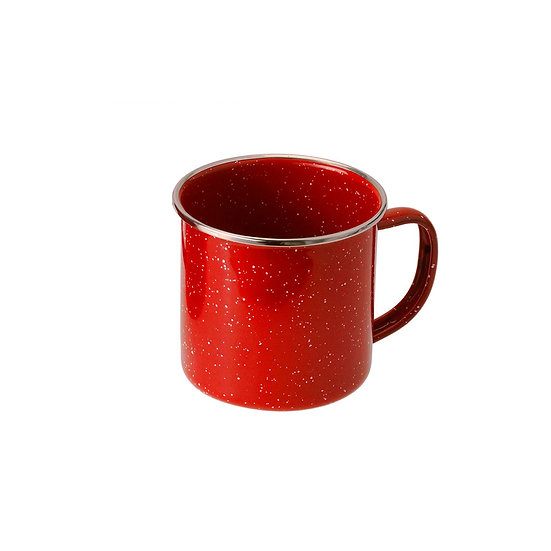 GSI Cup Stainless Rim 12 FL. OZ. CUP- RED