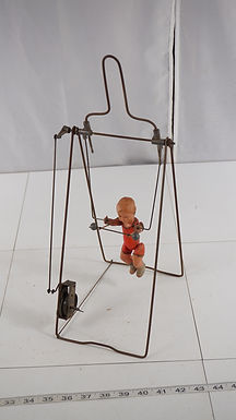 1930s Branko Celluloid Mechanical Acrobat - Wind-up Toy