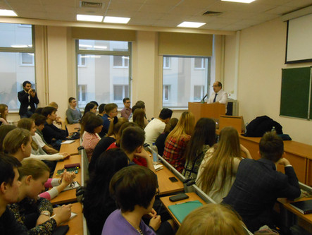 Фото с мастер-класса Игоря Манна