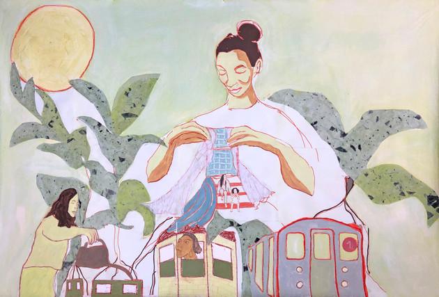 Mural (1 train)