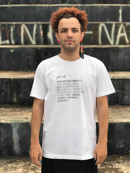 camiseta ARTIGO 5º