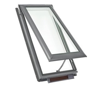"Solar Powered  ""Fresh Air"" Skylights"