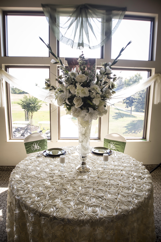 Bride & Groom table