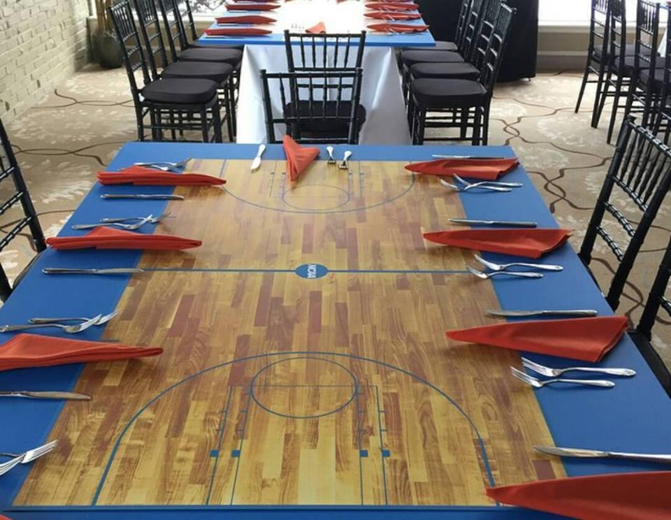 Basketball theme setup