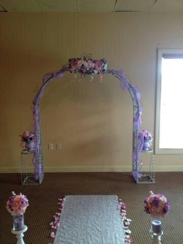 Purple, Lavender, & Pink wedding