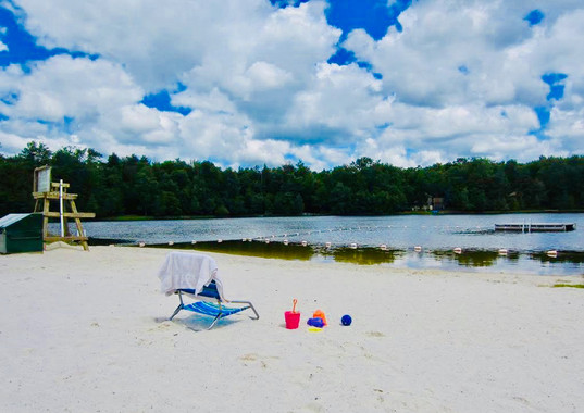 Lake Guinevere Swimming Beach