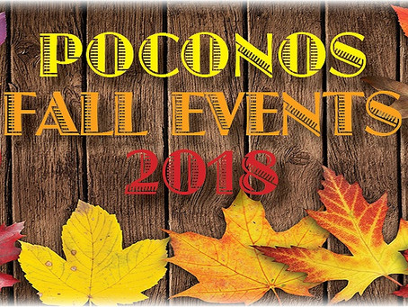 The Best 2018 Fall Events in the Poconos