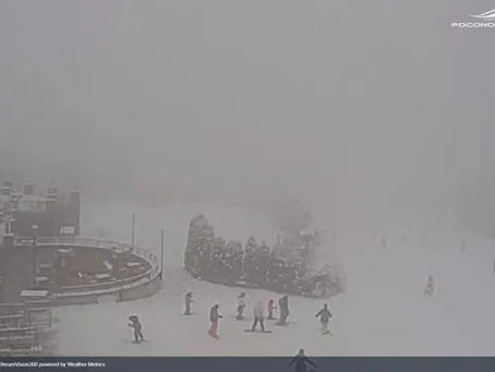 Live webcams: Watch snow fall around the Poconos and Lehigh Valley
