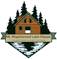 Mt. Maplewood Lake House Logo Camelot Fo