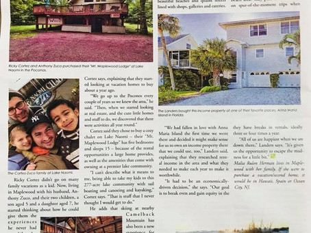 Mt. Maplewood Lodge featured in Matters Magazine