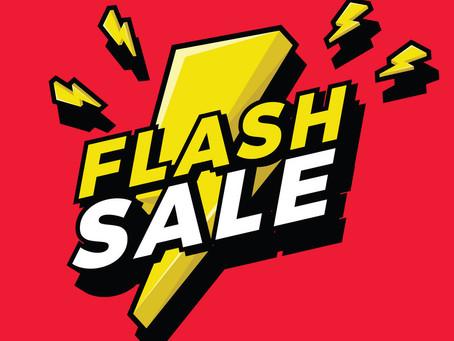 FEBRUARY FLASH SALE - $100 $avings