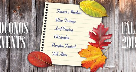 The Best 2019 Fall Events in the Poconos