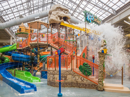 TOP 2 Indoor Waterparks: Kalahari & Aquatopia