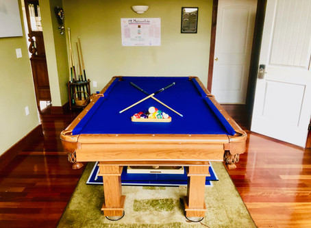 New Pool Table Makeover