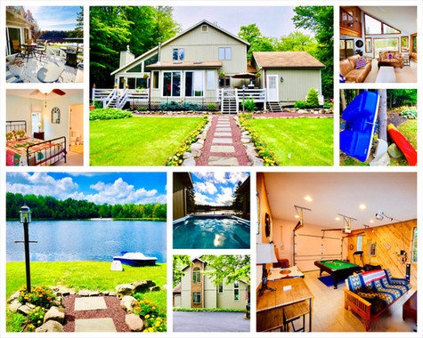 Collage - LAKE HOUSE