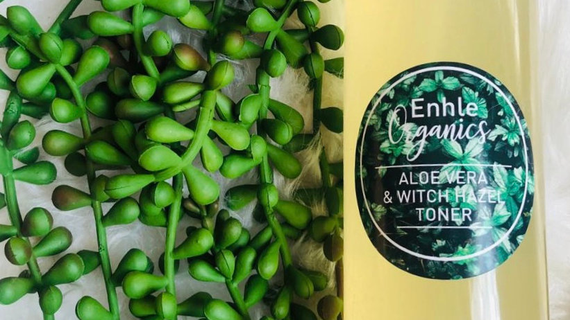 250ml Aloe and Witch Hazel Toner/Spritzer