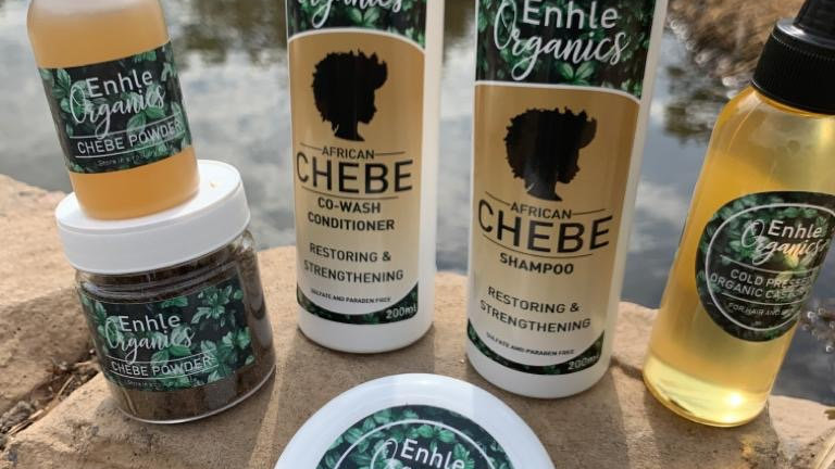 African Chebe hair growth full set
