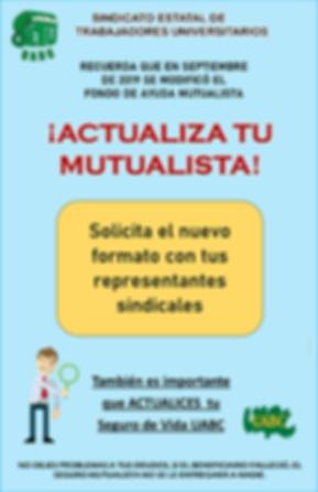 POSTER ACTUALIZA TU MUTUALISTA SETU 2020