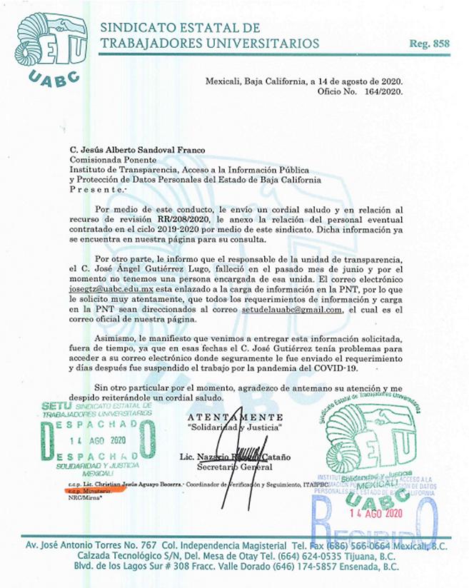 OFICIO 164 DE 2020 RECURSO DE REVISION-5