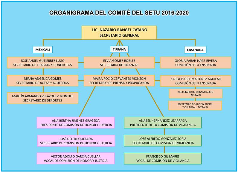 NUEVO ORGANIGRAMA DEL COMITE SETU 2019.p